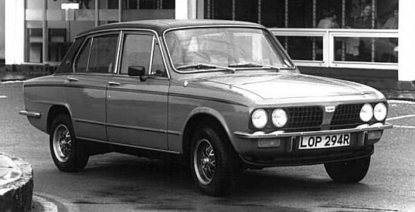 The 127bhp 16 Valve Dolomite Sprint may have looked handsomely understated, but it proved to be a very effective sports saloon. The car was a testament to the ingenuity of the Triumph design team, at that time, led by Spen King.