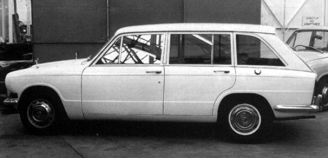 Following their successful conversion of the Triumph 2000 into estate form, Carbodies were asked to prepare an estate version of its smaller brother. This running prototype was the result, but sadly, it was not pursued by the company.