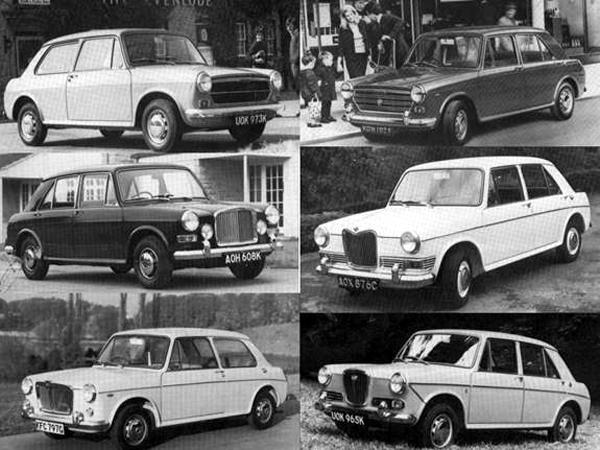 The badge engineered versions followed thick and fast in good BMC tradition, but it is probably fair to say that along with the 1958 Farina saloons, the practice reached its peak with the ADO16.