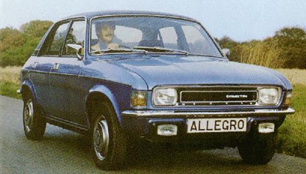 Series 2 Allegro was little changed externally, but some useful engineering modifications were added. It also saw the quartic wheel rightfully laid to rest.