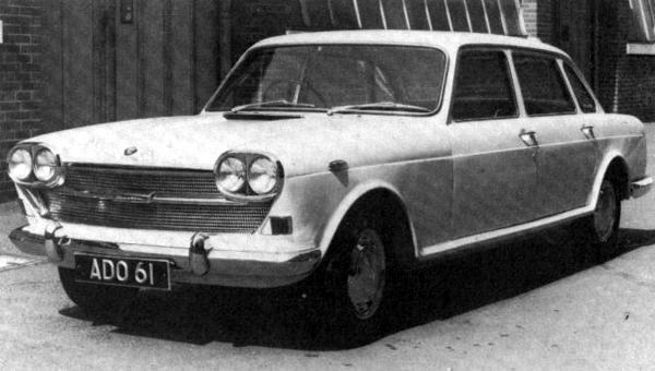 Prototype from 1963 shows BMC's big-car thinking of that time. The shape is remarkably similar to the final version, launched five years later.