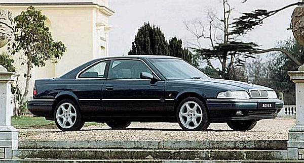 The cars : Rover 800 Coupé