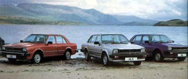 The cars : Triumph Acclaim development history