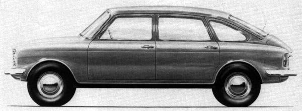 This alternative design proposal for the Maxi, dating from 1967, marks the first point at which BMC considered using those doors for its new 1500cc car.