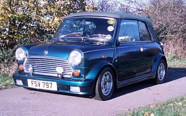 Jeffery Allen's Rover Mini Cabriolet is a rare beast...