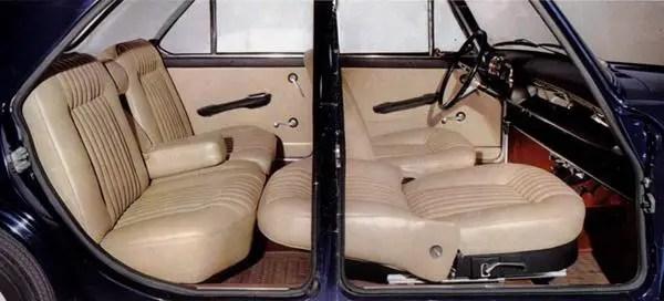 Innocenti Morris IM3S interior