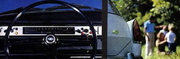 Innocenti Austin I4 fascia and rear styling detail