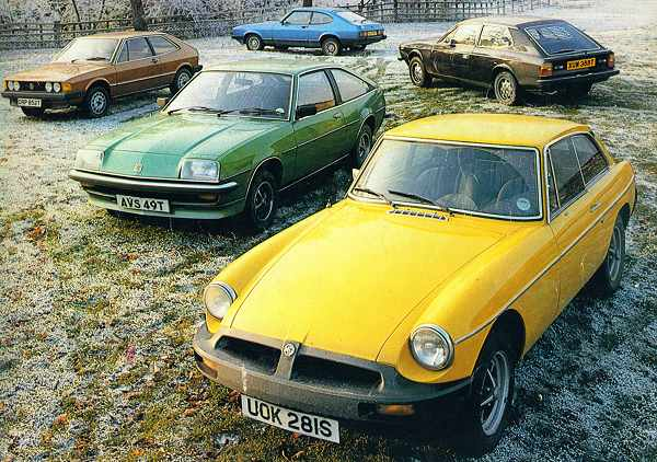 By the end of the Seventies, the MGB was being compared with some very competent sports cars.