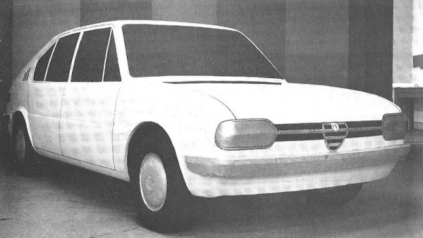 Alfasud scale model