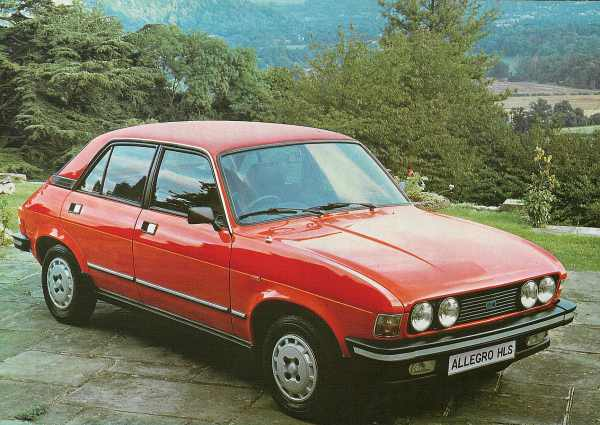 This picture of an Allegro 3 shows perfectly, just how much of an improvement can be made with a few cosmetic modifications. The quad-headlamp arrangement (also found on European series 2 Allegros) addressed the biggest criticism of the the car's styling: its bland headlamp/grille arrangement.