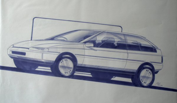 March 1983, and the design begins to develop into something more production tolerant.
