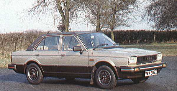 Duotone paint and a vinyl roof are the instant recognition points of the Avon Acclaim, but look closer and the Avon Acclaim was sumptuous inside as well... it sported re-upholstoured seats in Connolly leather and burr walnut trim on the dashboard. Acclaim Vanden Plas, anyone?