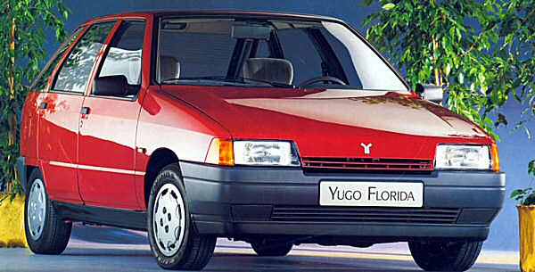 Yugo Sana - the first zero-valued car in Glasss Guide