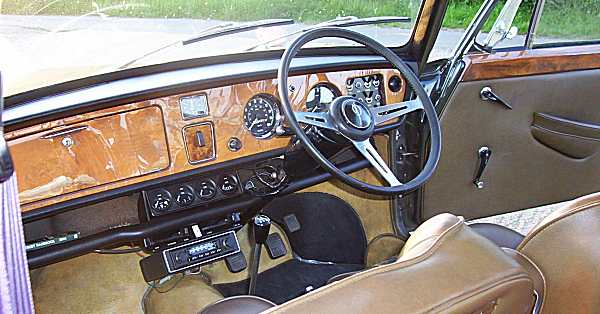 Ahead of the game: BMC cottoned on early to the idea of the luxury compact, and the Vanden Plas typified the company's methods. Thick, leather seats and a slab of wood for a dashboard. Again, it could have been vulgar, but thanks to Vanden Plas, it was (and is) the epitome of good taste.
