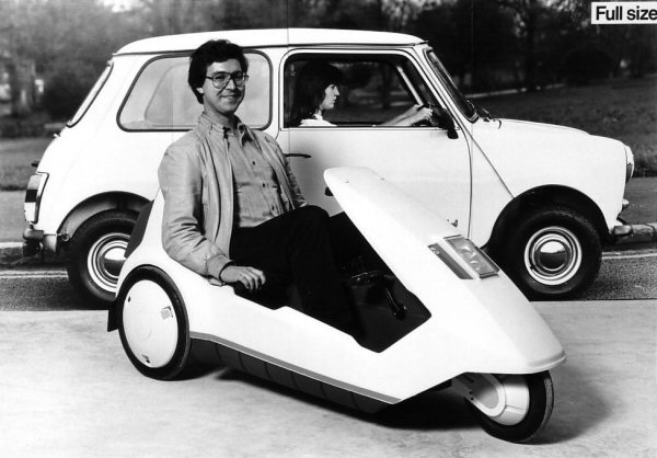The Cars Sinclair C5 Development Story Aronline