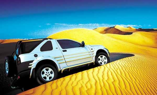 The cars : Land Rover Freelander