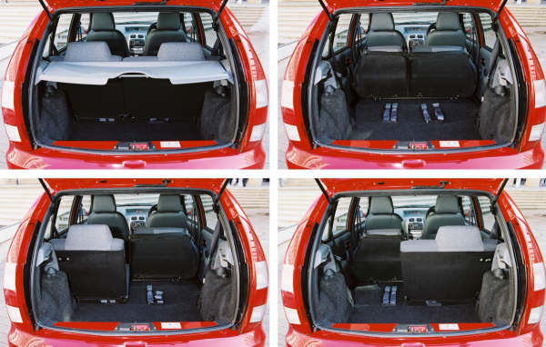 Boot space is good, although it is limited when the rear seats are in place. This is a limitation brought about by the car's short tail...