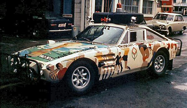 The World Cup Rally car... Trident Clipper