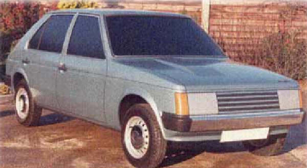 Chrysler Horizon development story: After mocking up several different C2 drawings, it was this one that gained managerial approval in November 1974. (Picture: www.allpar.com)
