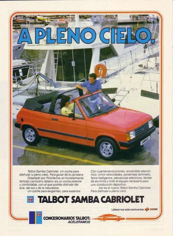 Spanish advertisement...