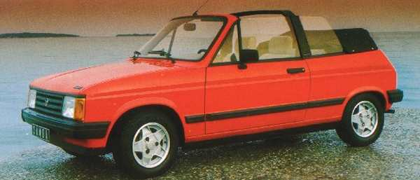 Open-air motoring on a budget: The Samba Cabriolet proved something of a hit in France...