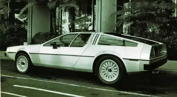 Original DeLorean prototype