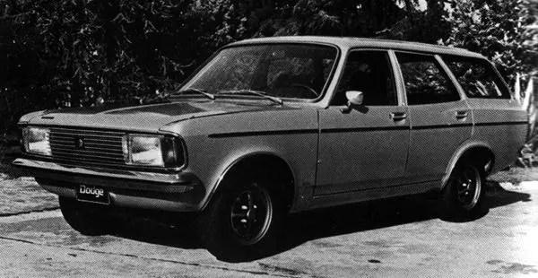 Dodge 1500 M 1.8 Rural (World Cars 1980)