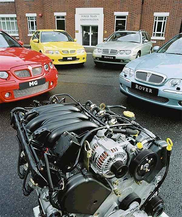 Playing to the strengths of the range: the K-Series engine had evolved into a remarkable engine (despite a few well-documented problems) and MG Rover/Powertain were proud to play on its strengths...