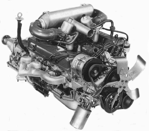 The Rover V8 engine