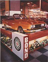 Bond Equipe Convertible at motor show