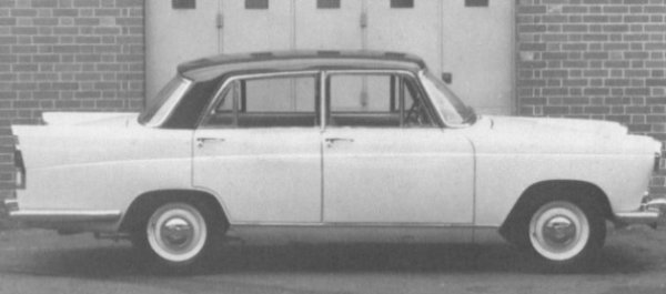 """The """"Farina"""" bodied mid-sized car, the Morris Oxford. Not the most inspiring car on the road to drive, but it was reasonably stylish and went on to live a long production life."""