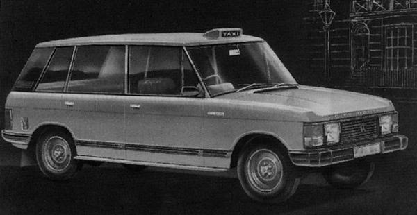 Out of Range: the initial styling sketch for CR6 owed much to the Range Rover, and it was intended that many of the body panels would be shared between the two cars.