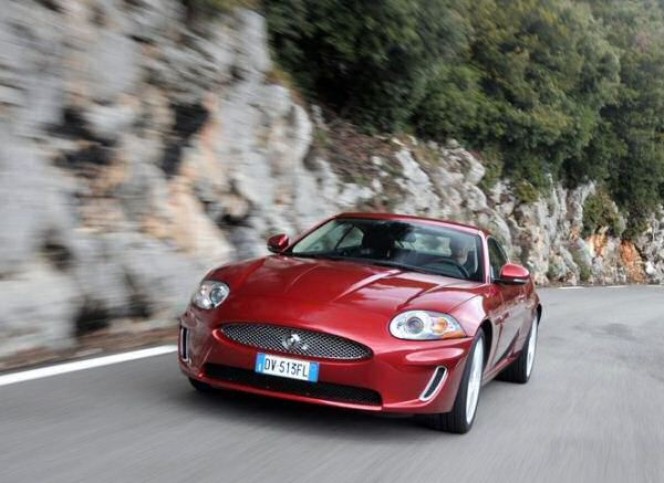 The XK has helped by Jaguar to number one