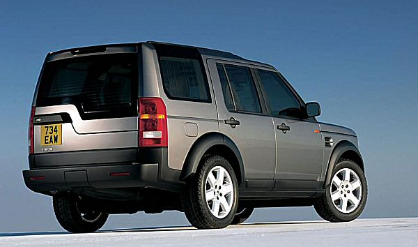 The LR3 from 2006 - Discovery's push upmarket continues...