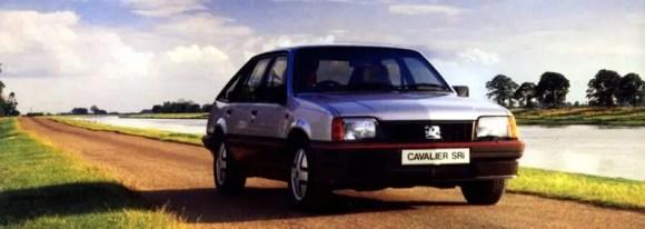 Vauxhall Cavalier Mk2 Pulling Power advert