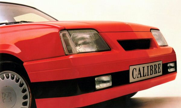 The Cavalier Calibre was a Tickford produced run-out model, still highly regarded today.