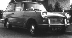 1962 Triumph Courier van