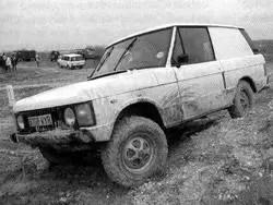 1984 Range Rover van