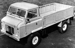 Forward-control Land Rover 101 pick-up