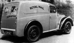 Morris Z-series van in Royal Mail livery