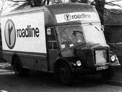 1972 BMC VA van in Roadline livery