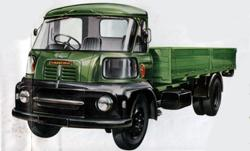 Early Austin 404 3-ton truck