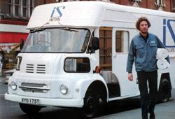 1978 Leyland FG laundry van