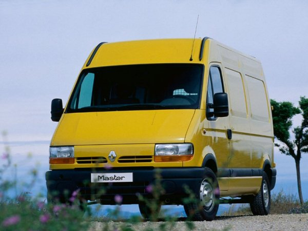 Renault Master van is a clear evolution of the LDV 202 model as penned by Stephen Harper for Leyland-DAF.