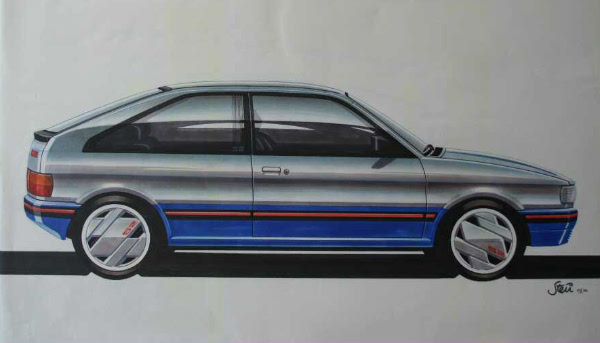 Without the rear bustle, there's an almost VAG-look about the Maestro three-door in this form.