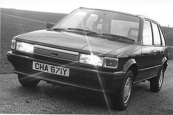 A Seventies car launched in the mid-Eighties...