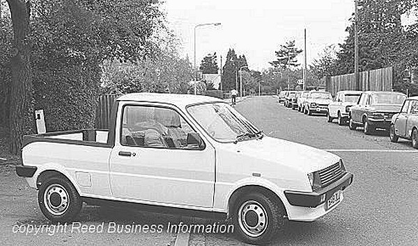 Another fascinating could-have-been, this Metro pickup remained a one-off... (Picture: Reed Business Information)