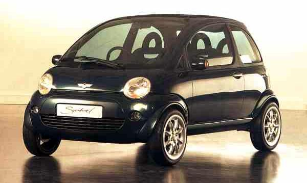 Mini Spiritual from 1997. Are we about to see its successor reach production?
