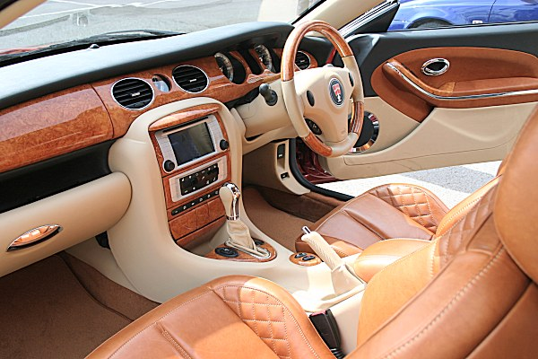 Coupe interior previewed the revised 75 interior for the 2006 models.