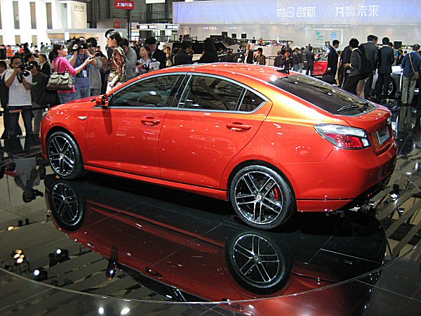 MG 6 at Shanghai (picture: Dan Strong)
